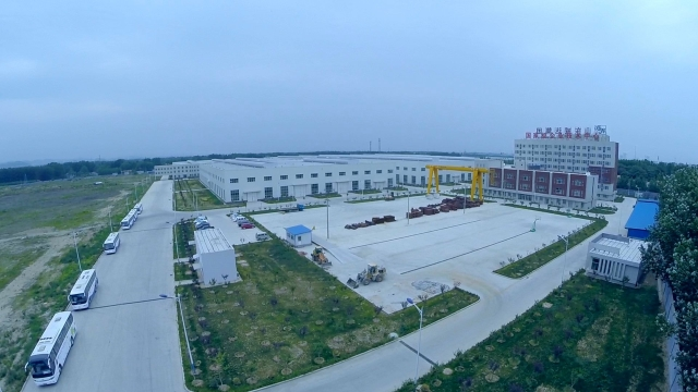 New appearance of new factory
